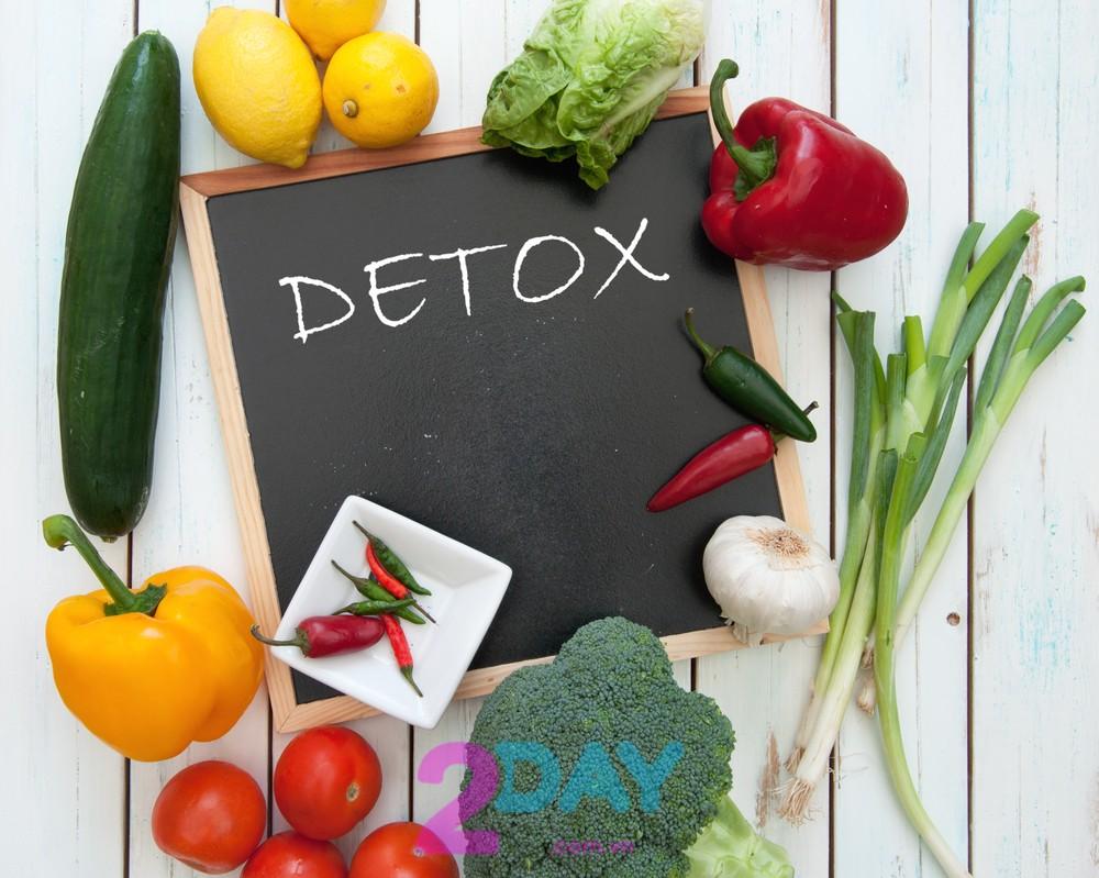 Nước detox là gì