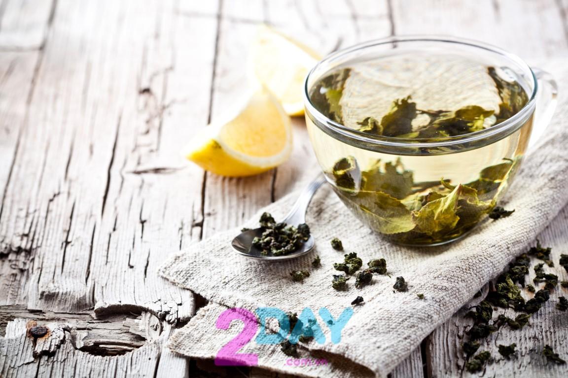 giảm cân an toàn bằng trà xanh
