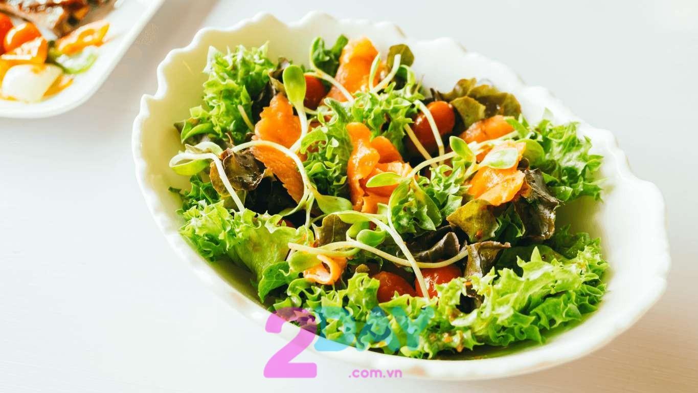 salad giúp giảm cân nhanh chóng