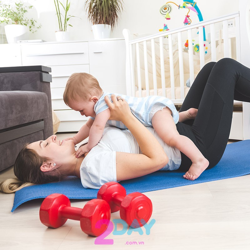 giảm cân sau sinh 6 tháng