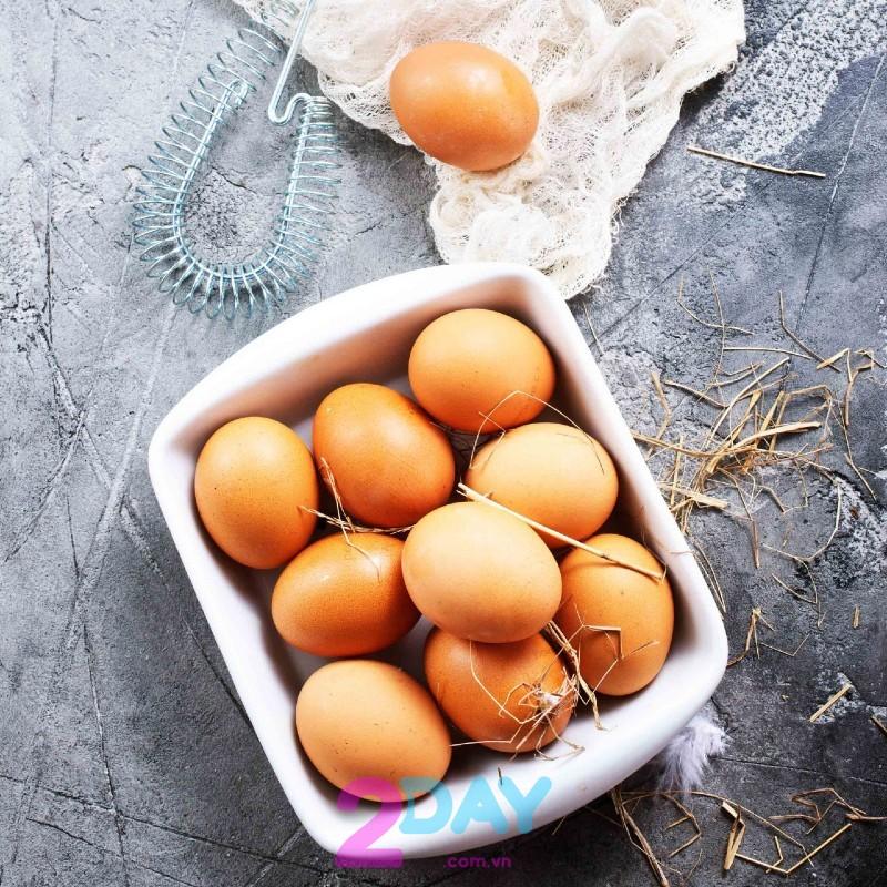 thực đơn giảm cân từ trứng
